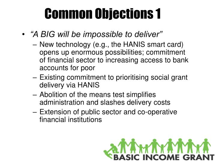 Common Objections 1