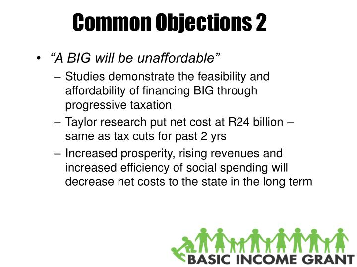 Common Objections 2