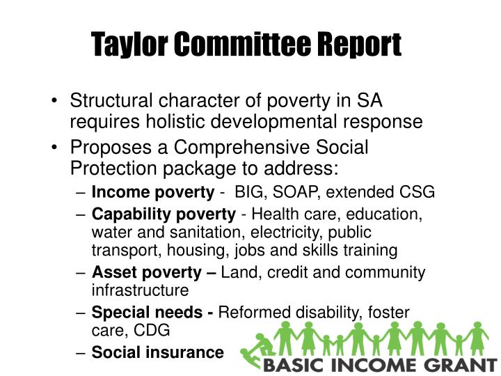Taylor Committee Report
