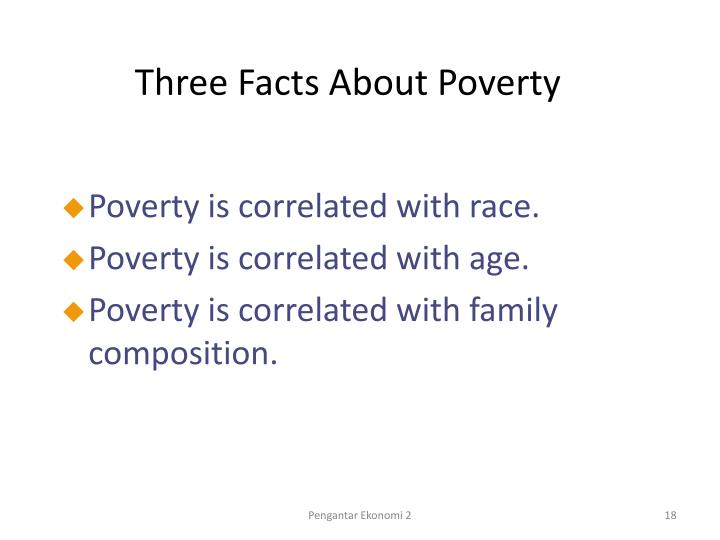 Three Facts About Poverty