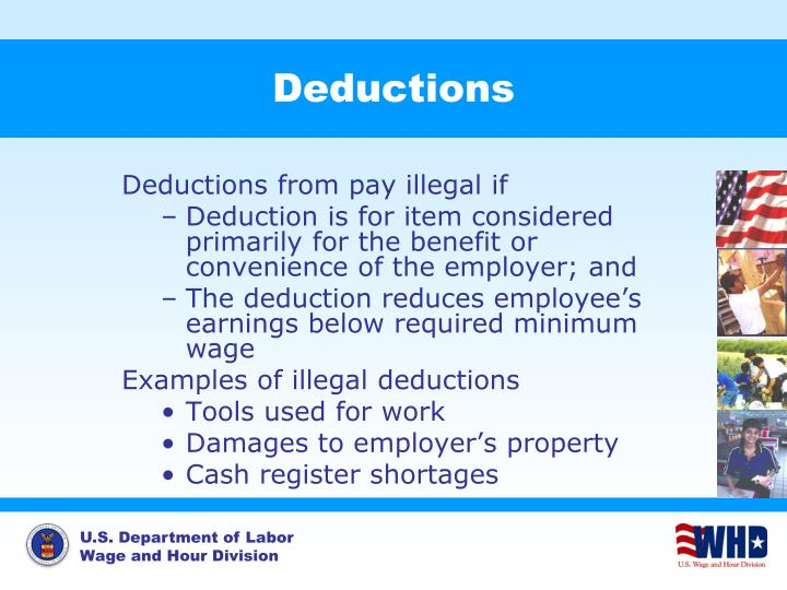 Deductions