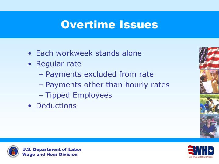 Overtime Issues