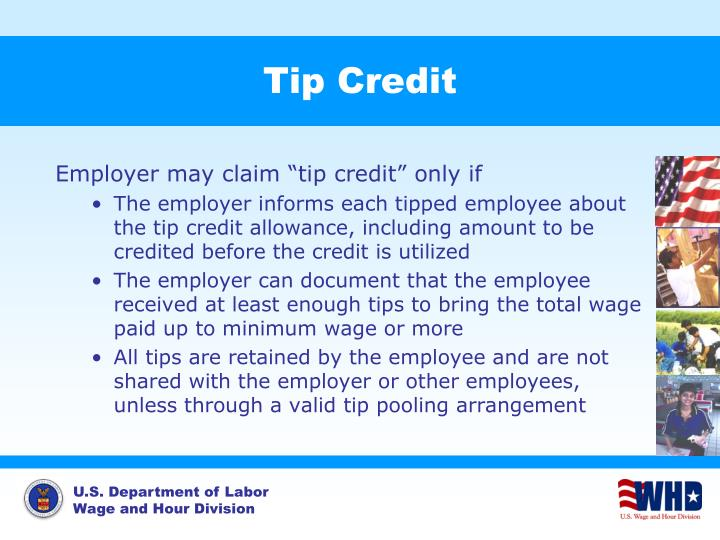 Tip Credit