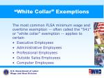 white collar exemptions1