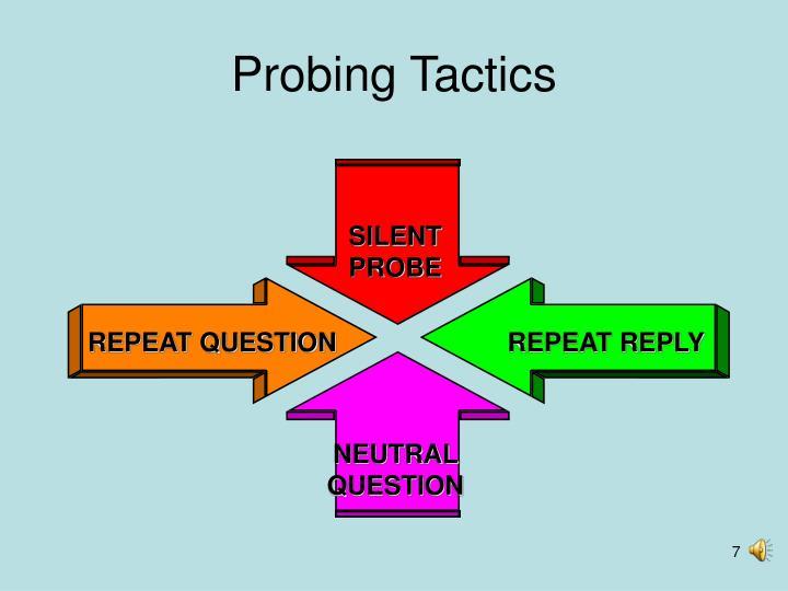 Probing Tactics