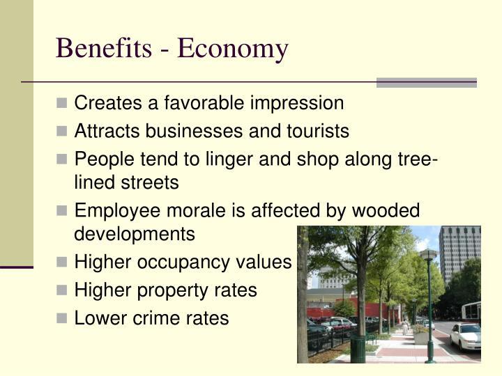 Benefits - Economy