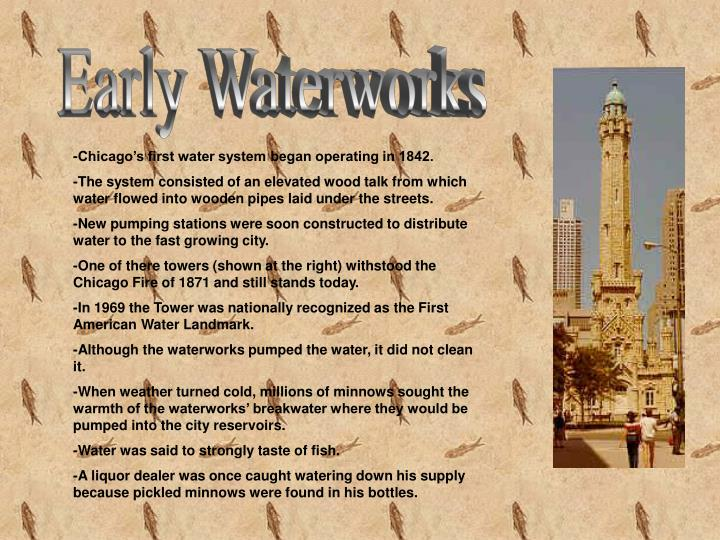 Early Waterworks