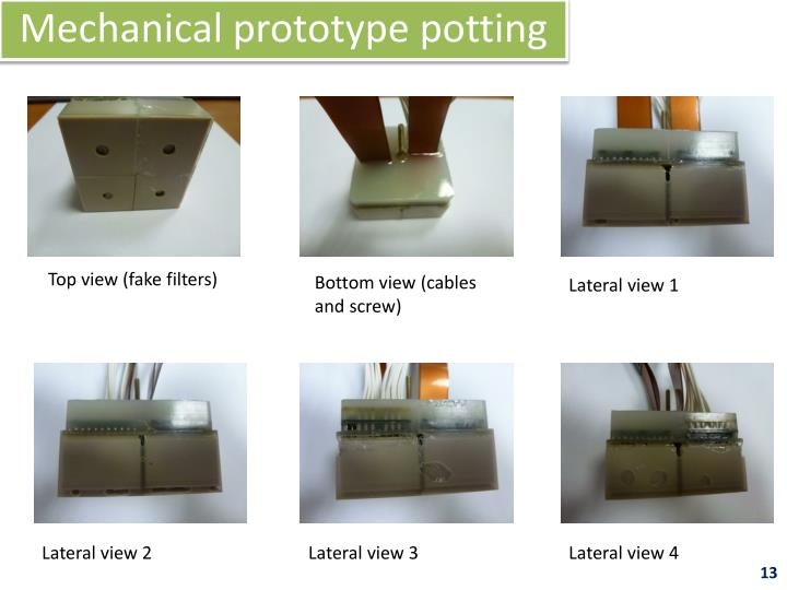 Mechanical prototype potting