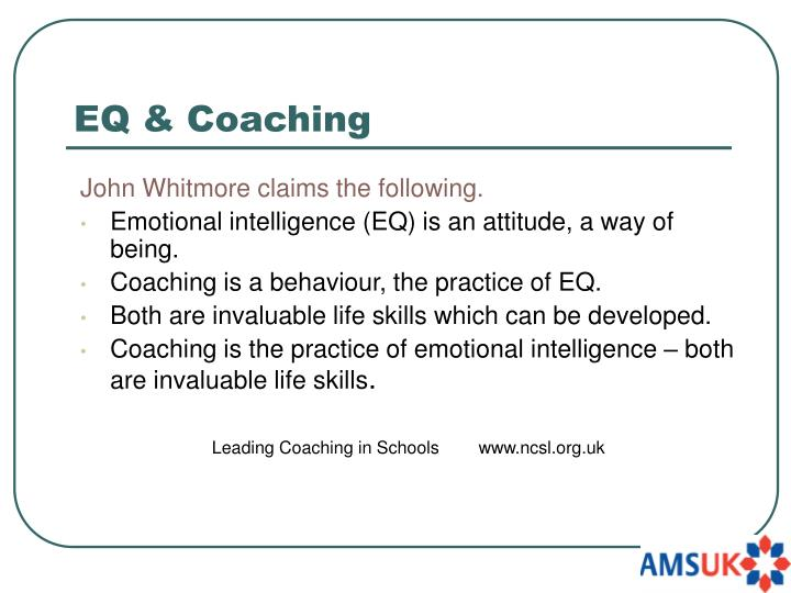 EQ & Coaching