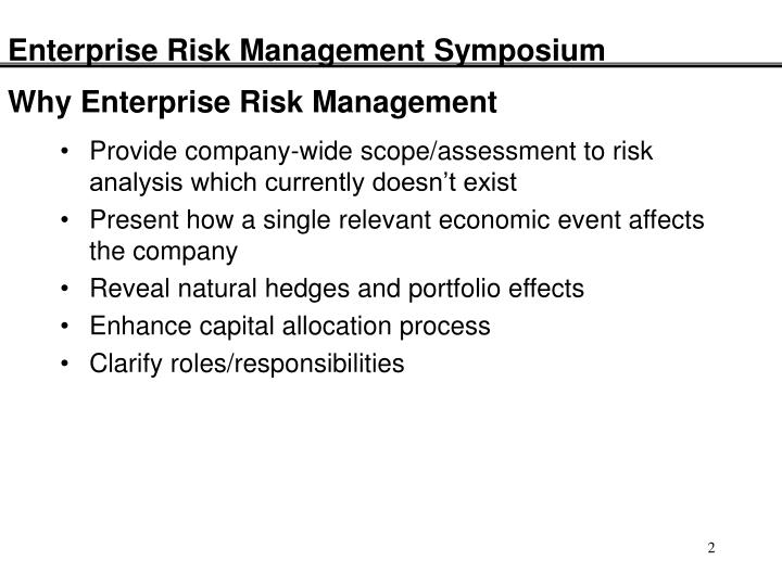 enterprise risk management case studies Enterprise risk management research to provide a case study example of a complex food fraud management system the case study food fraud initiative at.