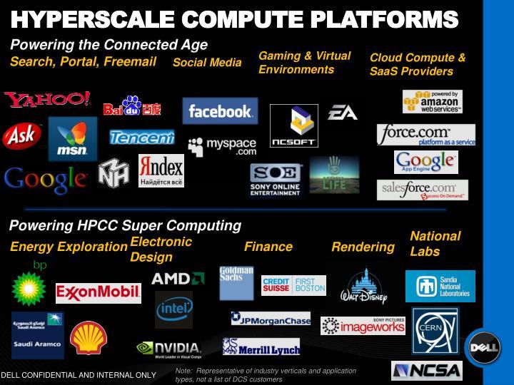 Hyperscale compute platforms