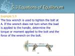 5 3 equations of equilibrium23