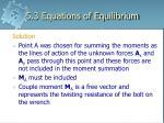 5 3 equations of equilibrium27