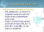 5 3 equations of equilibrium3