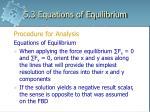5 3 equations of equilibrium8