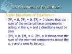 5 6 equations of equilibrium2