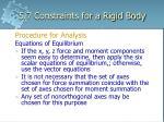 5 7 constraints for a rigid body10