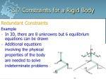 5 7 constraints for a rigid body2
