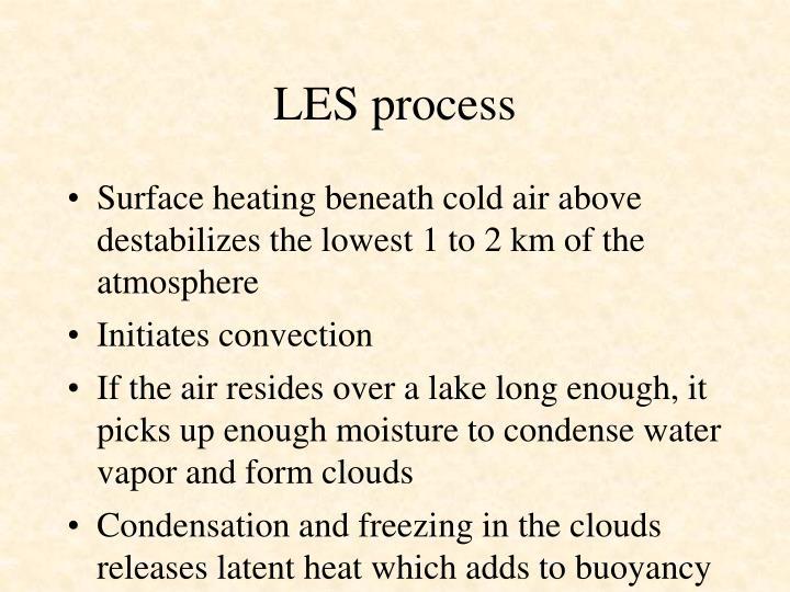 LES process
