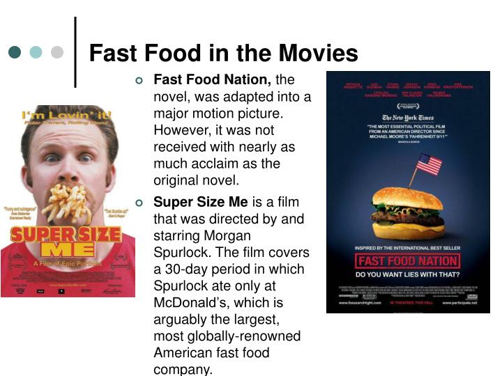 Fast Food in the Movies