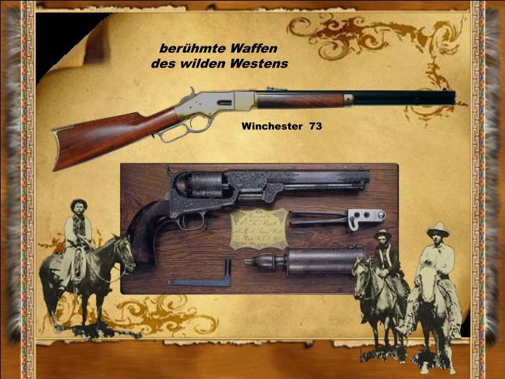 berühmte Waffen