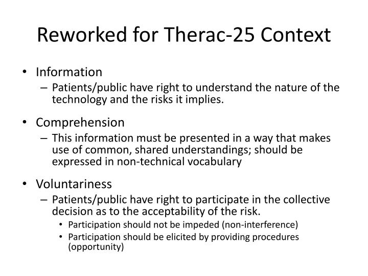 Reworked for Therac-25 Context