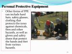 personal protective equipment1