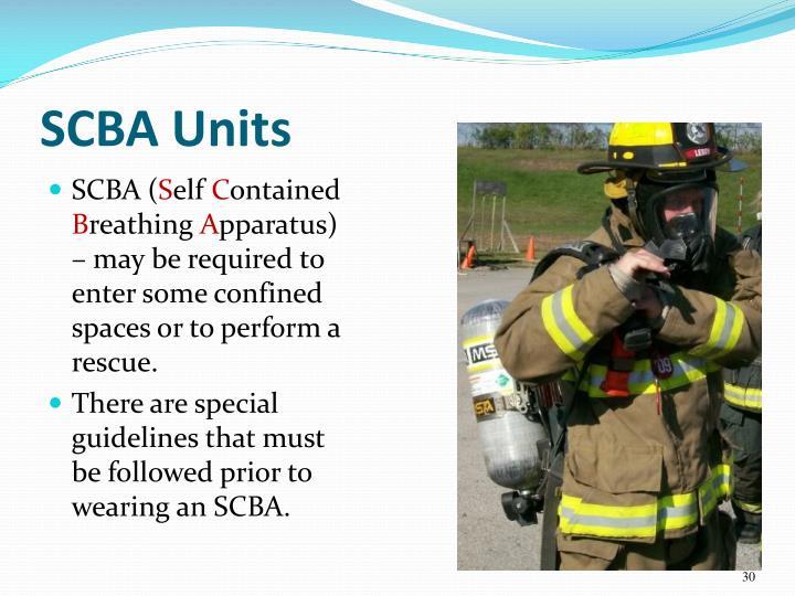 SCBA Units
