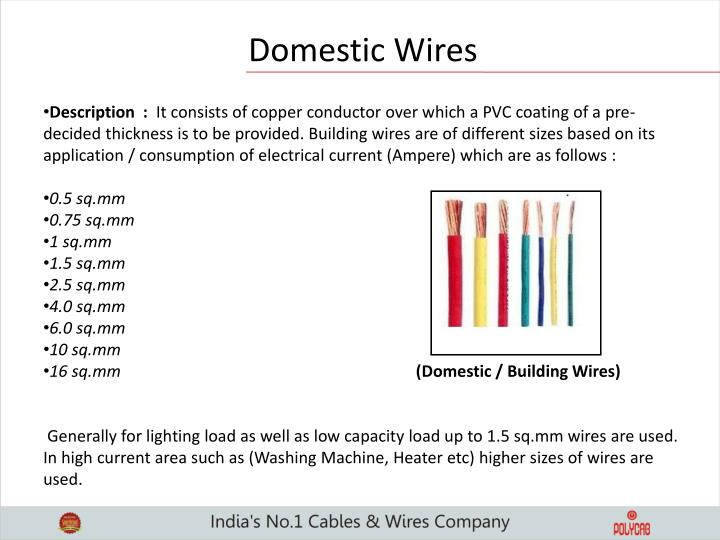 Domestic Wires