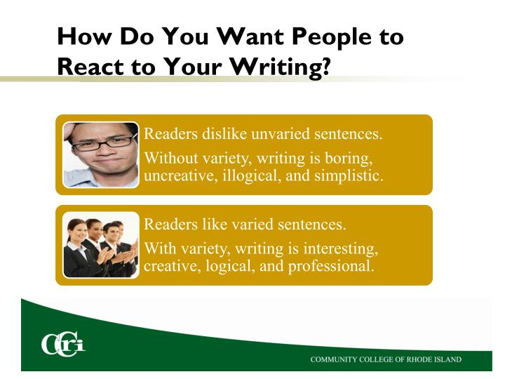 How Do You Want People to React to Your Writing?