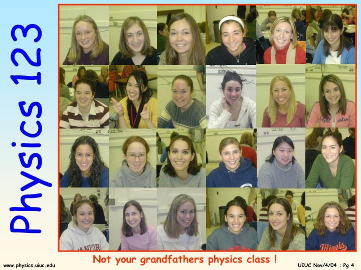 Physics 123