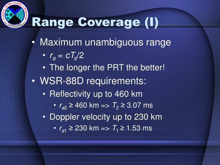 Range Coverage (I)
