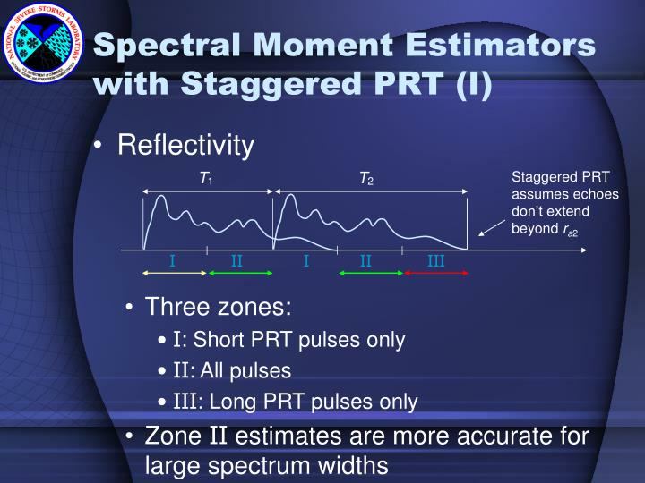 Staggered PRT assumes echoes don't extend beyond