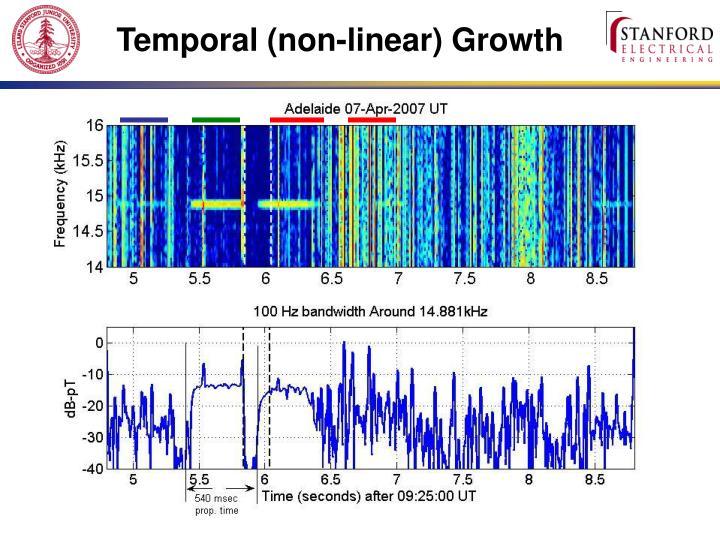 Temporal (non-linear)