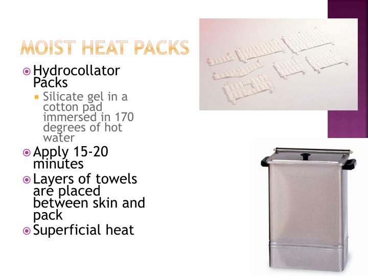 Moist Heat Packs