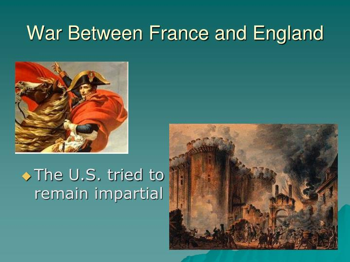 War Between France and England