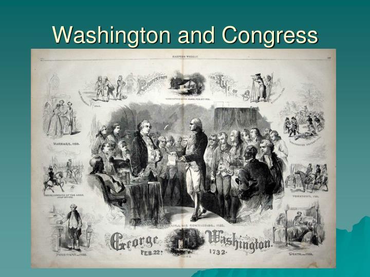 Washington and Congress