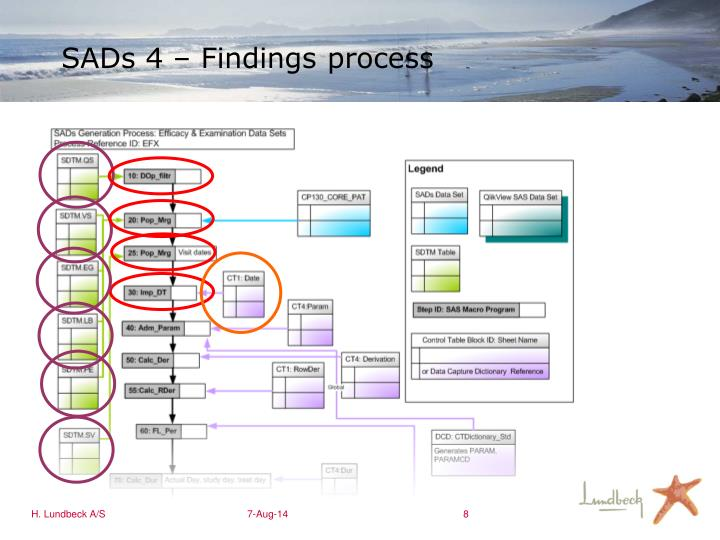 SADs 4 – Findings process