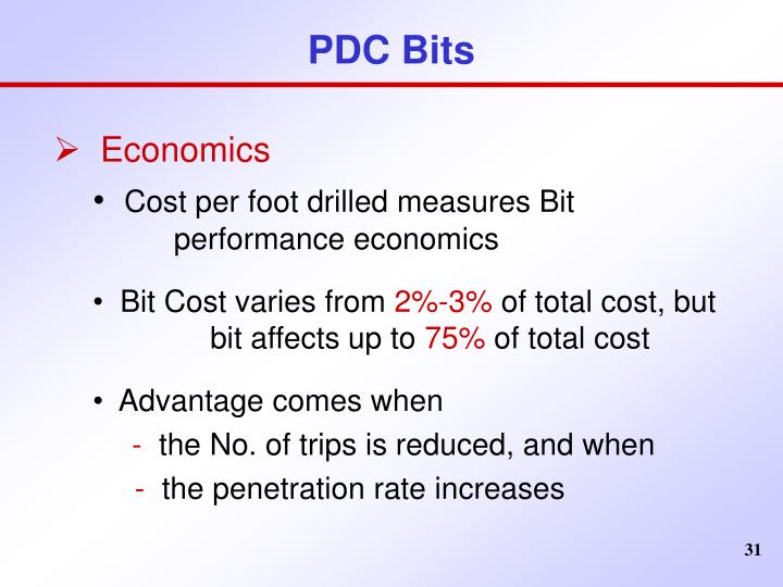 PDC Bits