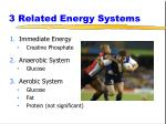 3 related energy systems