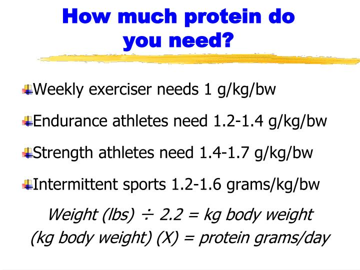 How much protein do