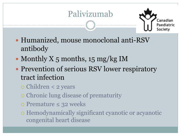 Palivizumab