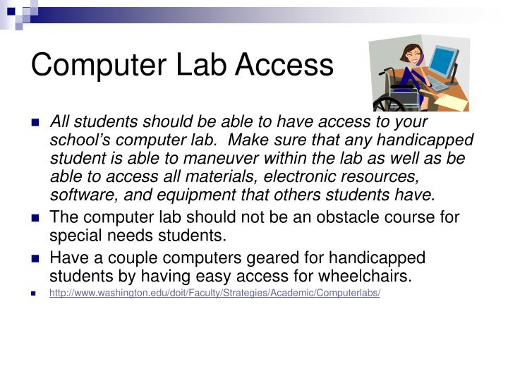 Computer Lab Access