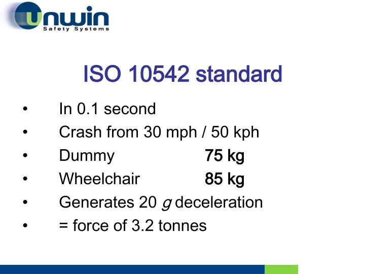 ISO 10542 standard