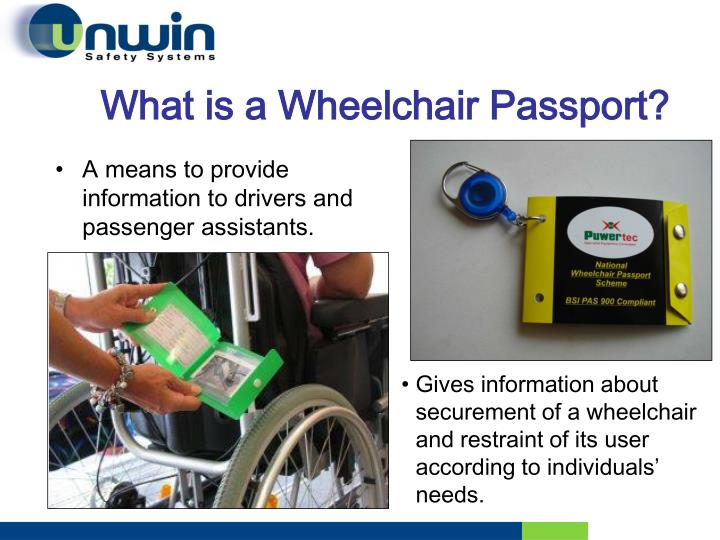 What is a Wheelchair Passport?