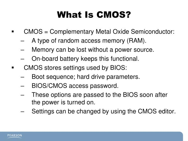What Is CMOS?