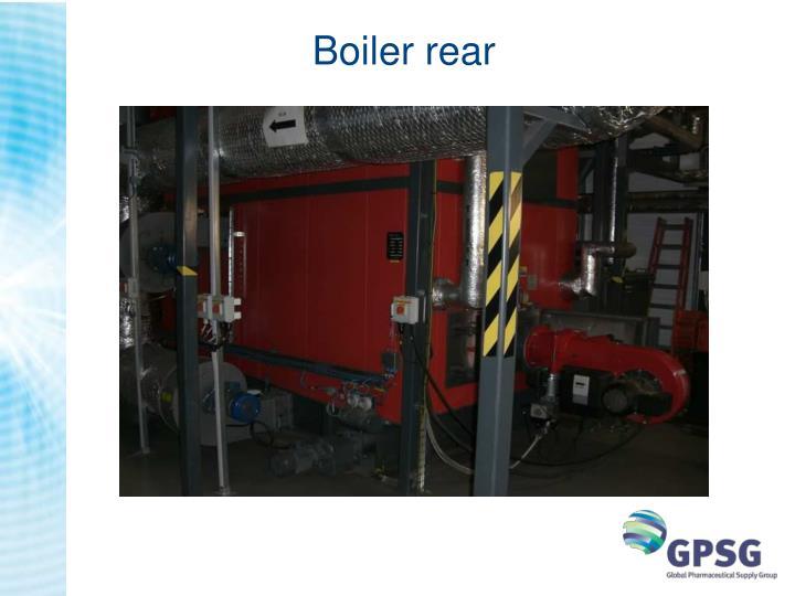 Boiler rear