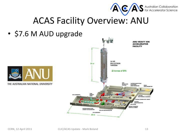 ACAS Facility Overview: ANU