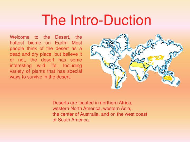 The Intro-Duction