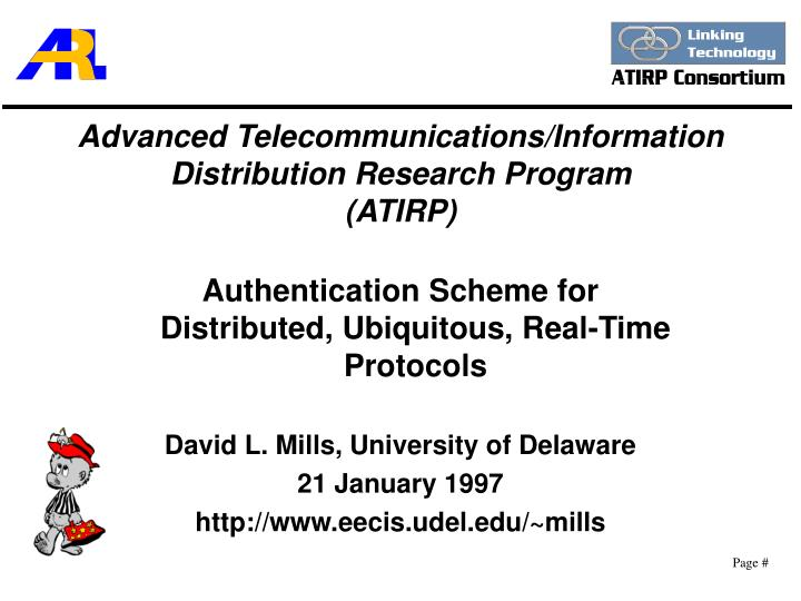 Advanced telecommunications information distribution research program atirp